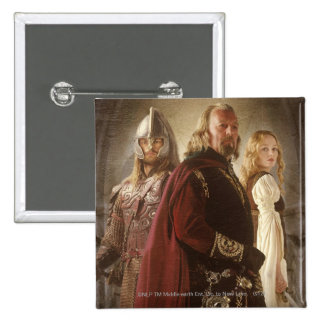 Eowyn and Theoden Buttons
