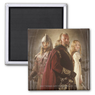 Eowyn and Theoden Refrigerator Magnet