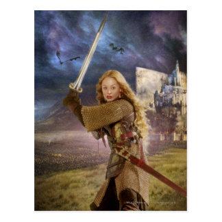 Eowyn aumenta la espada postales