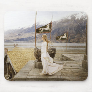 Eowyn on Castle Steps Mouse Pad