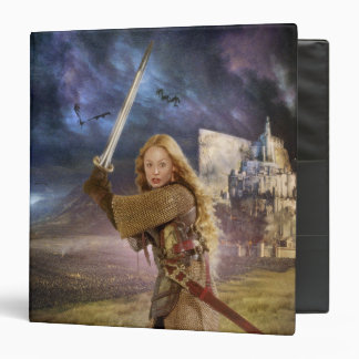 Eowyn Raises Sword Vinyl Binder