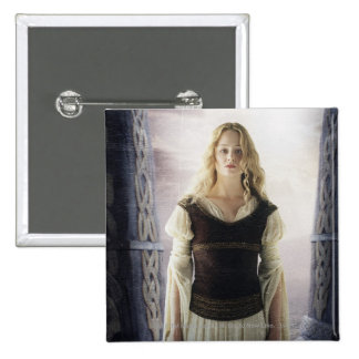Eowyn with sword pinback button
