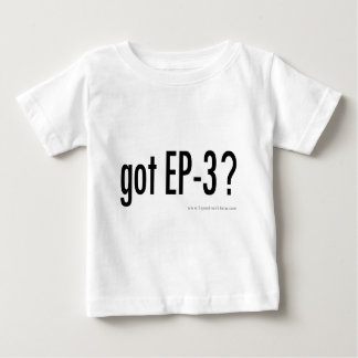 ¿EP3 conseguido? camisa del bebé