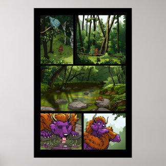 Ep. 07, impresión archival de la página 28 póster