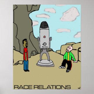 Ep # 1: Poster de las relaciones de raza