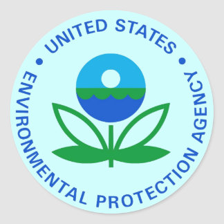 EPA ENVIRONMENTAL PROTECTION AGENCY STICKERS