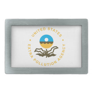 EPA: Extra Pollution Agency (logo) Belt Buckle