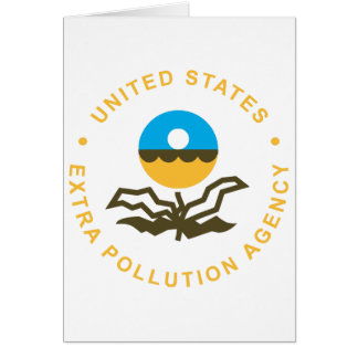 EPA: Extra Pollution Agency (logo) Card