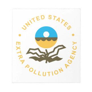 EPA: Extra Pollution Agency (logo) Notepad