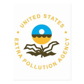 EPA: Extra Pollution Agency (logo) Postcard