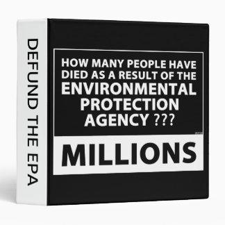 EPA Kills Millions Binder