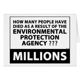 EPA Kills Millions Card