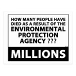 EPA Kills Millions Post Cards