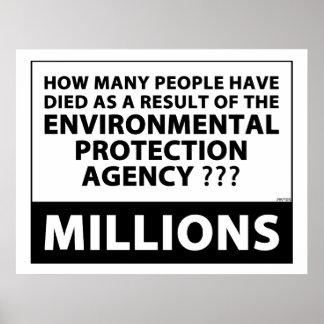 EPA Kills Millions Poster