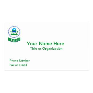 EPA Retired Business Card