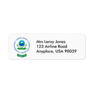 EPA Retired Return Address Label