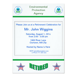 EPA Retirement Invitation