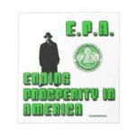 EPA - Usted no puede construir eso Blocs De Papel