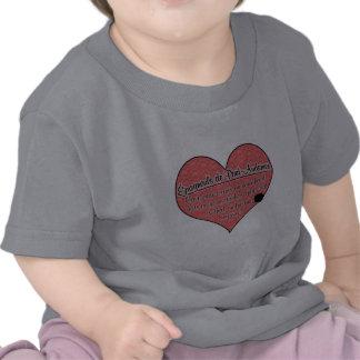 Epagneul de Pont-Audemer Paw imprime humor del Camiseta