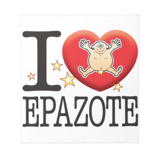 Epazote Love Man Notepad
