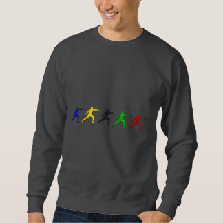 Epee Fencers Fencing Mens Athlete Womens Sports Sweatshirt