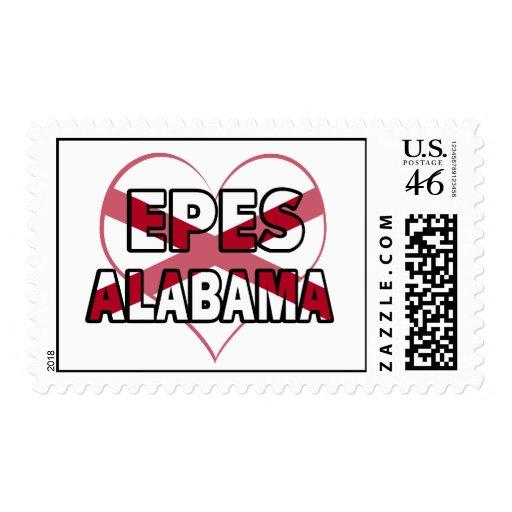 Epes, Alabama Sello