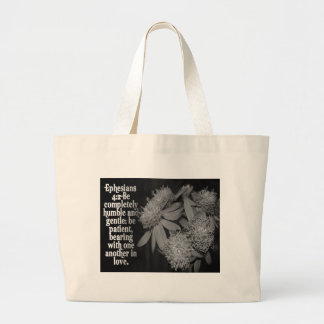 EPESIANS 4:2 LOVE - FAVORITE SCRIPTURE CANVAS BAGS