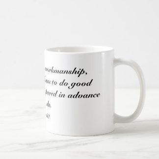 Eph 2:10 coffee mug