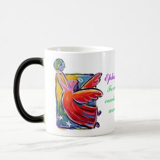 Eph. 2:10, Mommy's Life Verse :) 11 Oz Magic Heat Color-Changing Coffee Mug