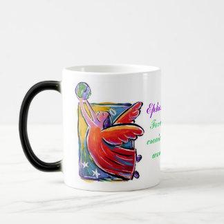 Eph. 2:10, Mommy's Life Verse :) 11 Oz Magic Heat Color-Changing Coffee Mug