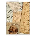 Ephemera Greeting Cards