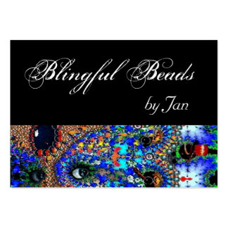 EPHEMERAL Beauty,Fashion,Cosmetics, Makeup Artist Large Business Cards (Pack Of 100)