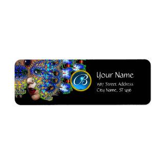 EPHEMERAL BLUE SAPPHIRE MONOGRAM Black Label
