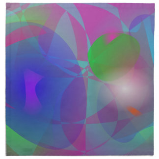 Ephemeral Purple Cloth Napkin