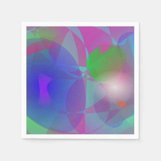 Ephemeral Purple Napkin