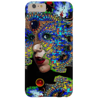 EPHEMERAL/ WOMAN WITH COLORFUL FRACTAL MASK BARELY THERE iPhone 6 PLUS CASE