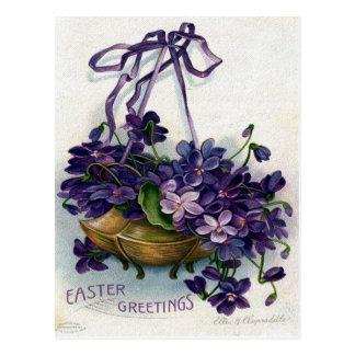 Ephemeras de Pascua del Victorian Tarjetas Postales