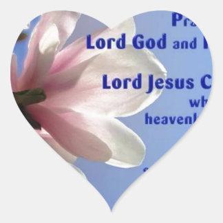 Ephesians 1 heart sticker