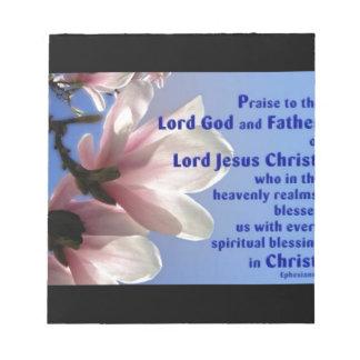Ephesians 1 memo pads