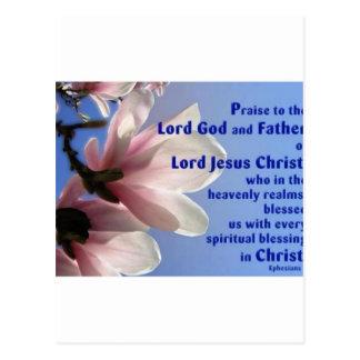 Ephesians 1 postcard