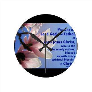 Ephesians 1 round clock