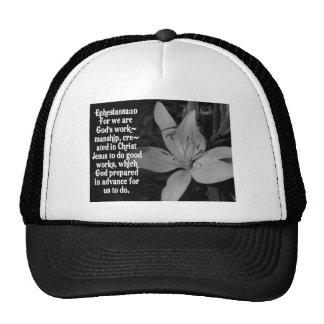 EPHESIANS 2:10 BIBLE SCRIPTURE QUOTE TRUCKER HAT