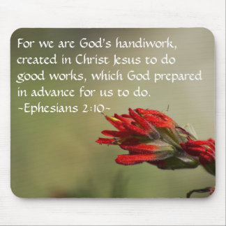 Ephesians 2:10 mouse pad