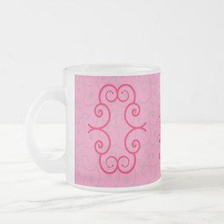 Ephesians 2 : 20 pink mug