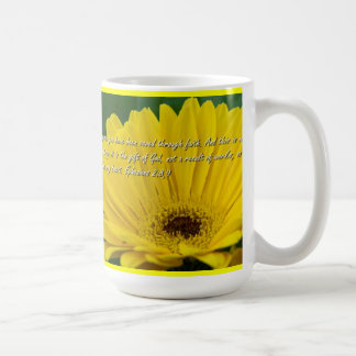 Ephesians 2:8- 9 coffee mug