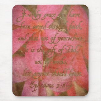 Ephesians 2:8-9 mouse pad