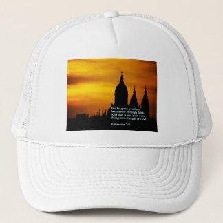 Ephesians 2:8  Church Trucker Hat