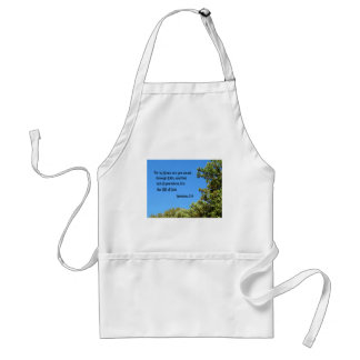 Ephesians 2:8 For by grace are ye saved... Adult Apron