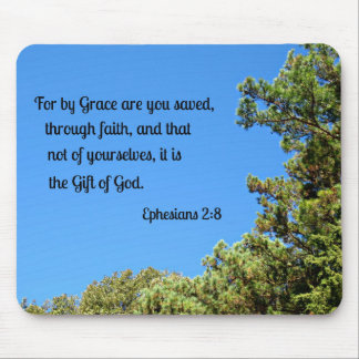 Ephesians 2:8 For by grace are ye saved... Mouse Pad
