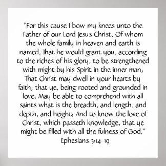 Ephesians 3 Print Print